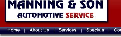 Manning and Son Automotive Service